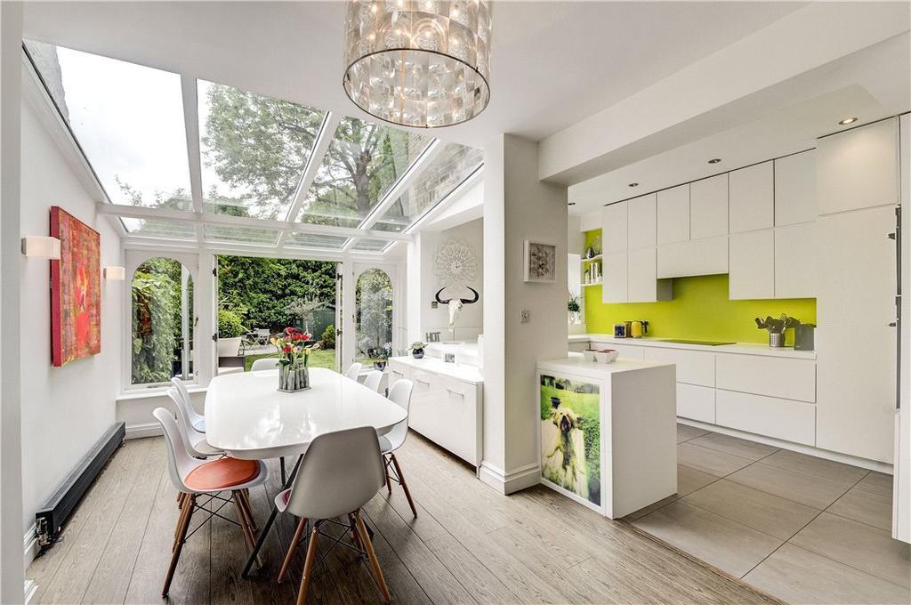 3 Bedrooms Maisonette Flat for sale in Elgin Avenue, Maida Vale, London, W9