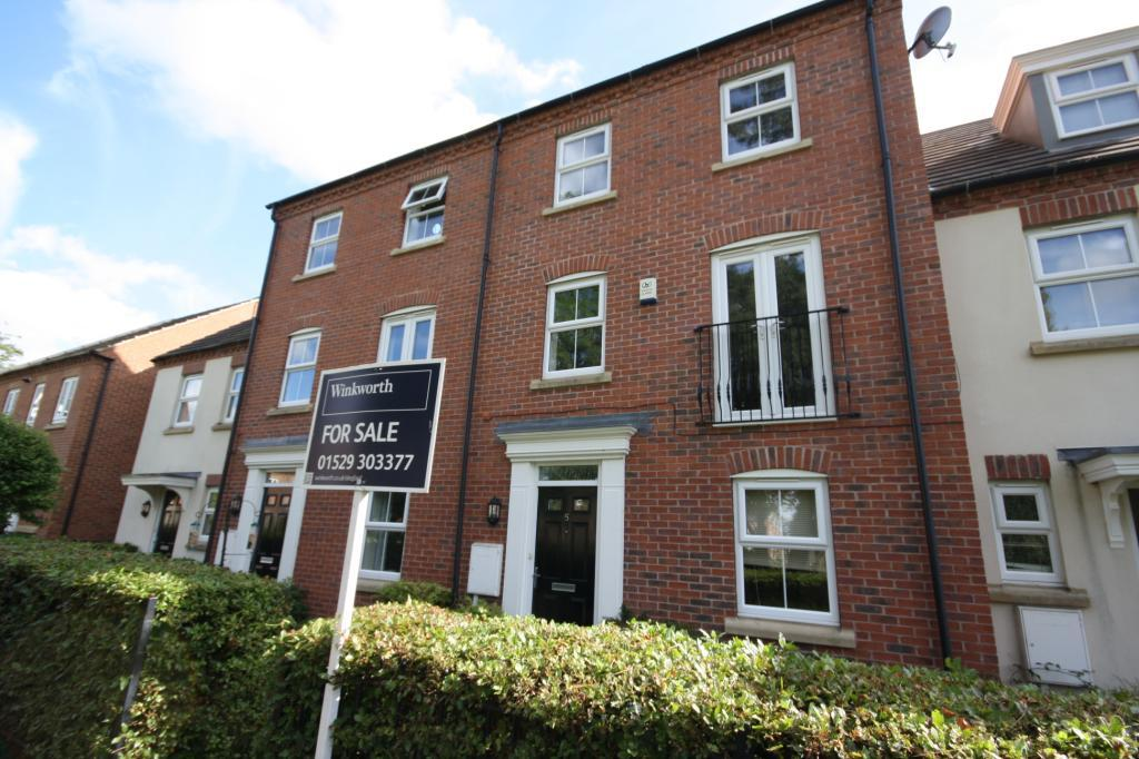 4 Bedrooms Terraced House for sale in Arran Close, Greylees, Sleaford, Lincolnshire, NG34