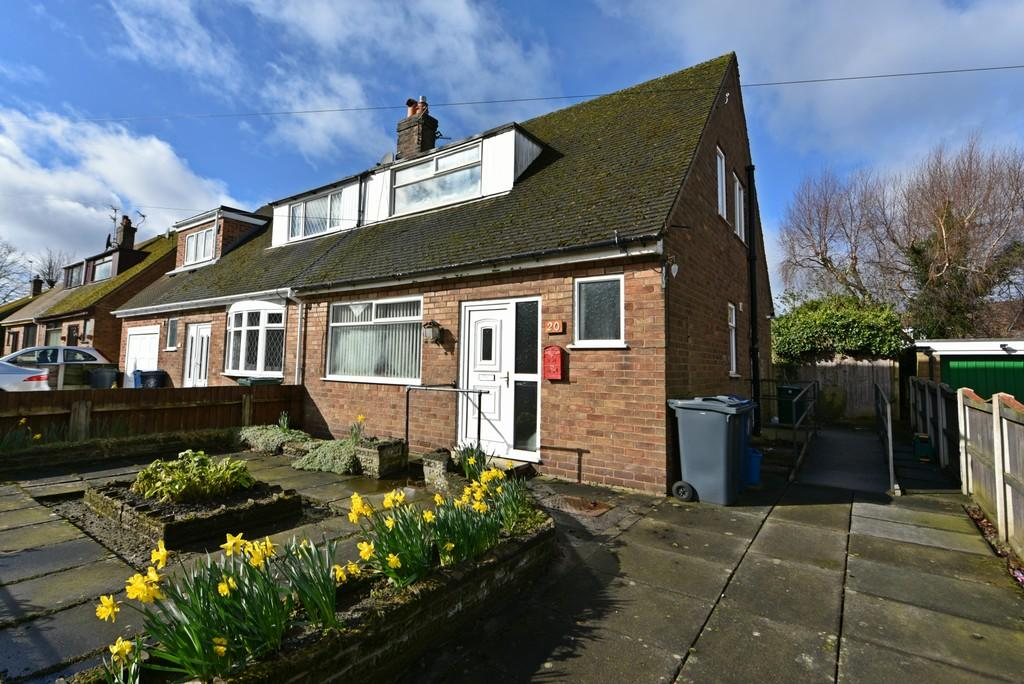 2 Bedrooms Semi Detached Bungalow for sale in Palm Court, Skelmersdale