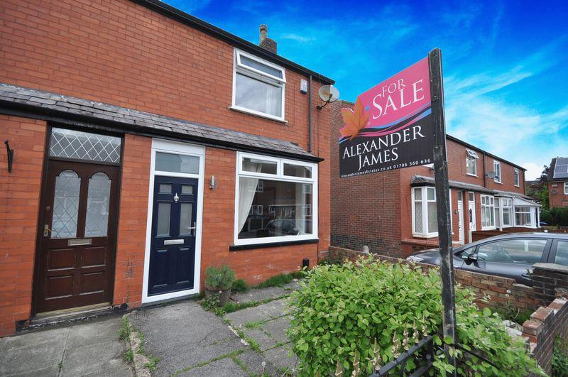 2 Bedrooms End Of Terrace House for sale in Barker Street, Heywood
