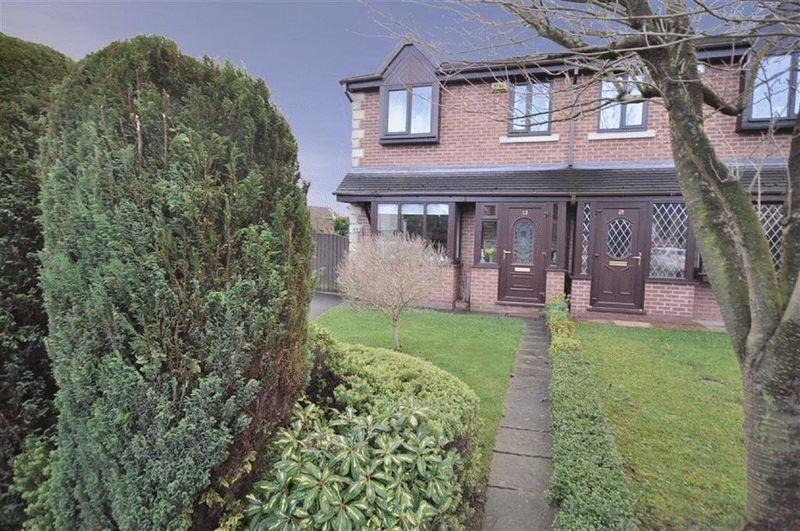 3 Bedrooms Semi Detached House for sale in Porritt Close, Rochdale