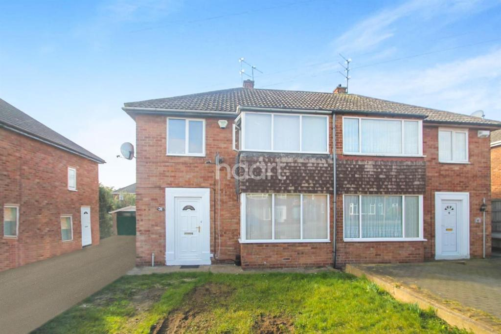 3 Bedrooms Semi Detached House for sale in Wicklow Road, Intake