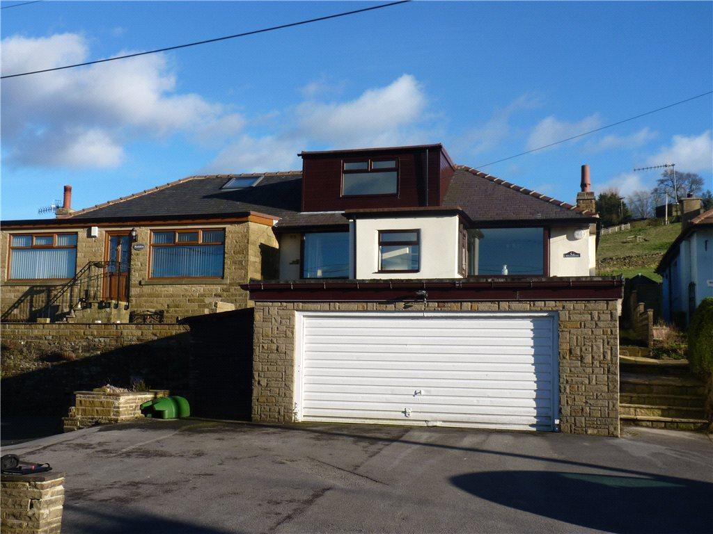 4 Bedrooms Semi Detached Bungalow for sale in Hill Dene, Hebden Road, Haworth, Keighley