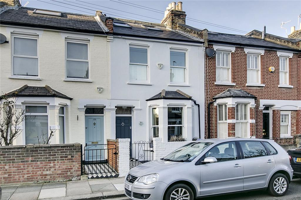 3 Bedrooms Terraced House for sale in Mendora Road, Fulham, London