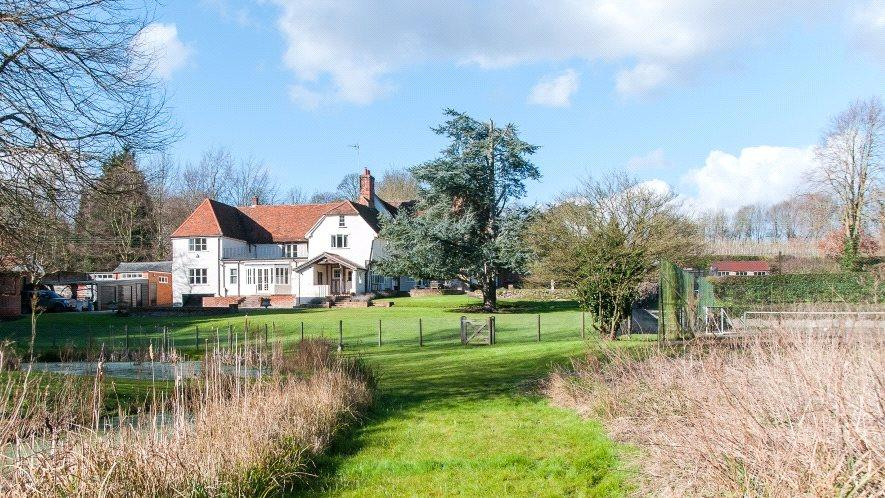 6 Bedrooms Detached House for sale in The Street, Monks Eleigh, Ipswich, Suffolk, IP7