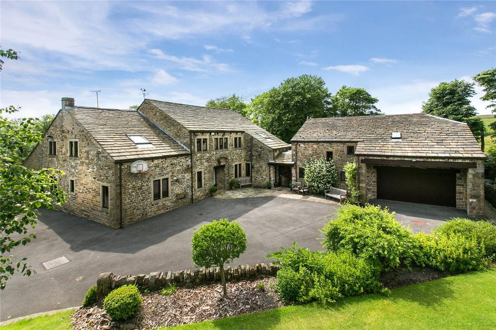 7 Bedrooms Detached House for sale in Black Moss Road, Blacko, Nelson, Lancashire, BB9