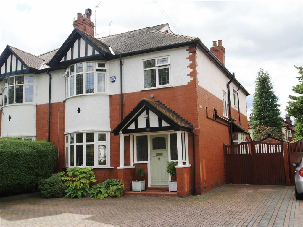 4 Bedrooms Semi Detached House for sale in Stanneylands Road, Wilmslow