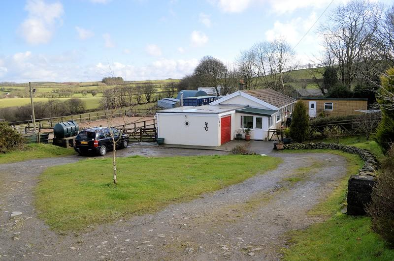 3 Bedrooms Land Commercial for sale in Blaenbran , Talsarn, Lampeter, Ceredigion. SA48