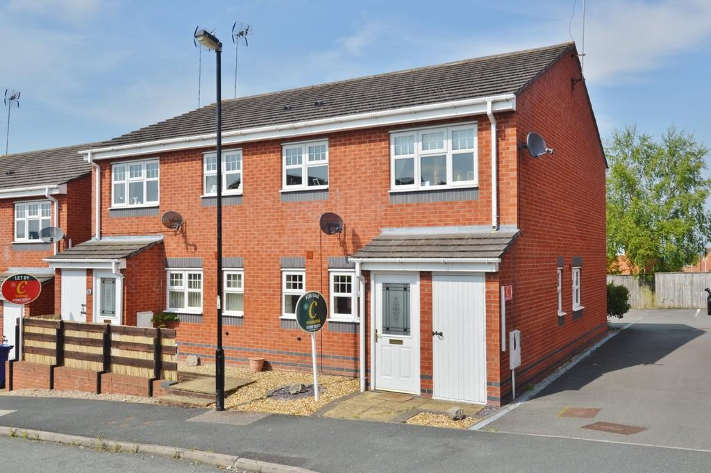 1 Bedroom Apartment Flat for sale in Canterbury Drive, Rugeley