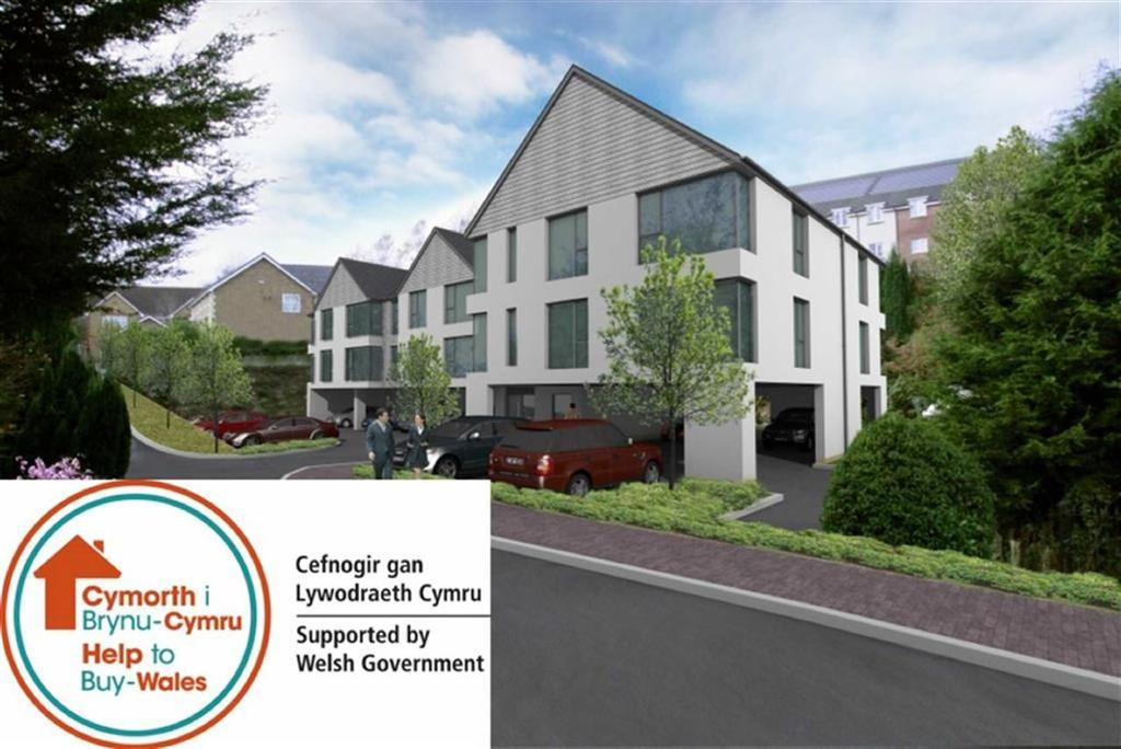 2 Bedrooms Flat for sale in Castle Manor, Caerphilly, CF83