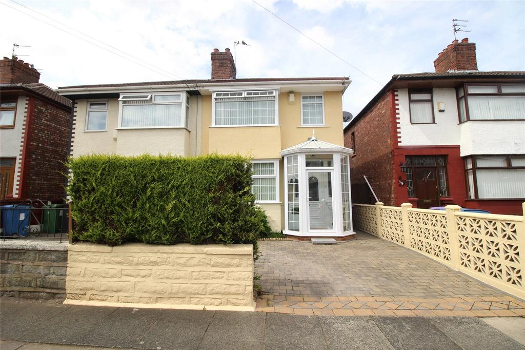 3 Bedrooms Semi Detached House for sale in Richland Road, Liverpool, Merseyside, L13