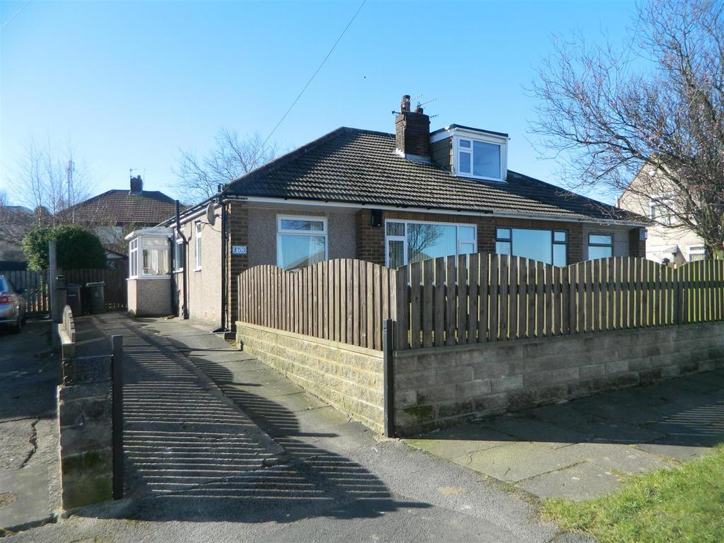 2 Bedrooms Semi Detached Bungalow for sale in Welbeck Drive, Off Hollingwood Lane, Bradford, BD7 4BT