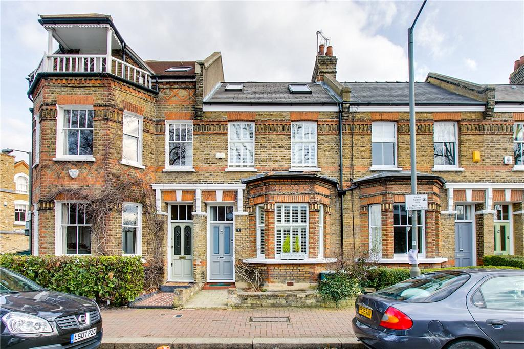 3 Bedrooms Terraced House for sale in Beauchamp Terrace, Putney, London