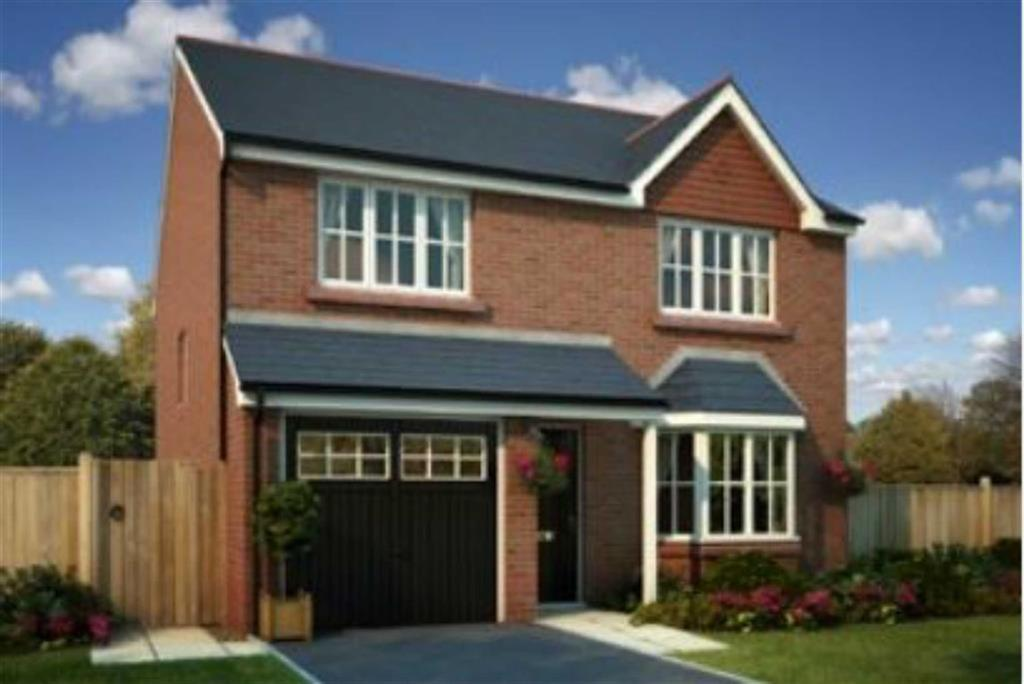 4 Bedrooms Detached House for sale in Off Vicarage Road, Haslington, Crewe