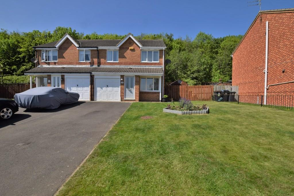 3 Bedrooms Semi Detached House for sale in Mowlam Drive, East Stanley
