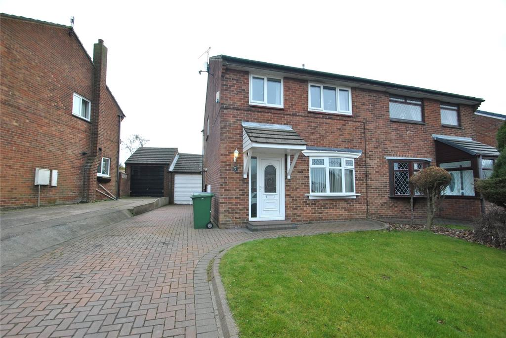 3 Bedrooms Semi Detached House for sale in Haverley Drive, Seaham, Co.Durham, SR7