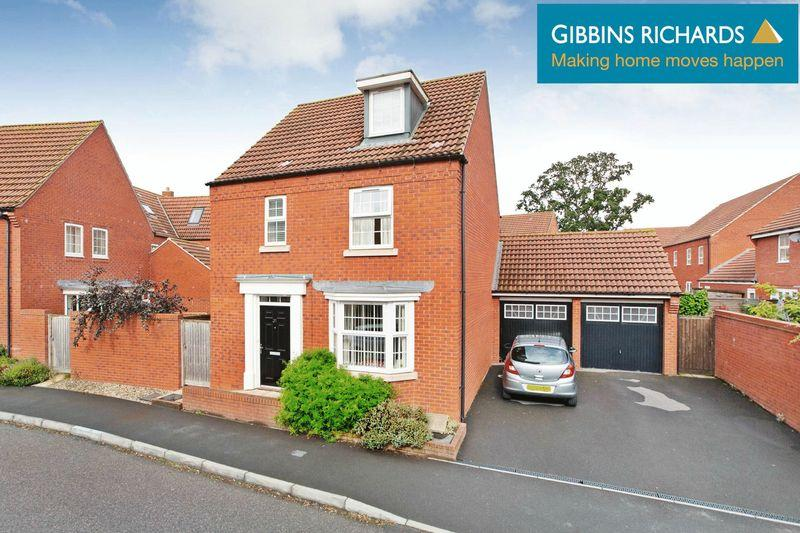 4 Bedrooms Detached House for sale in Sorrel Drive, Wilstock, Bridgwater