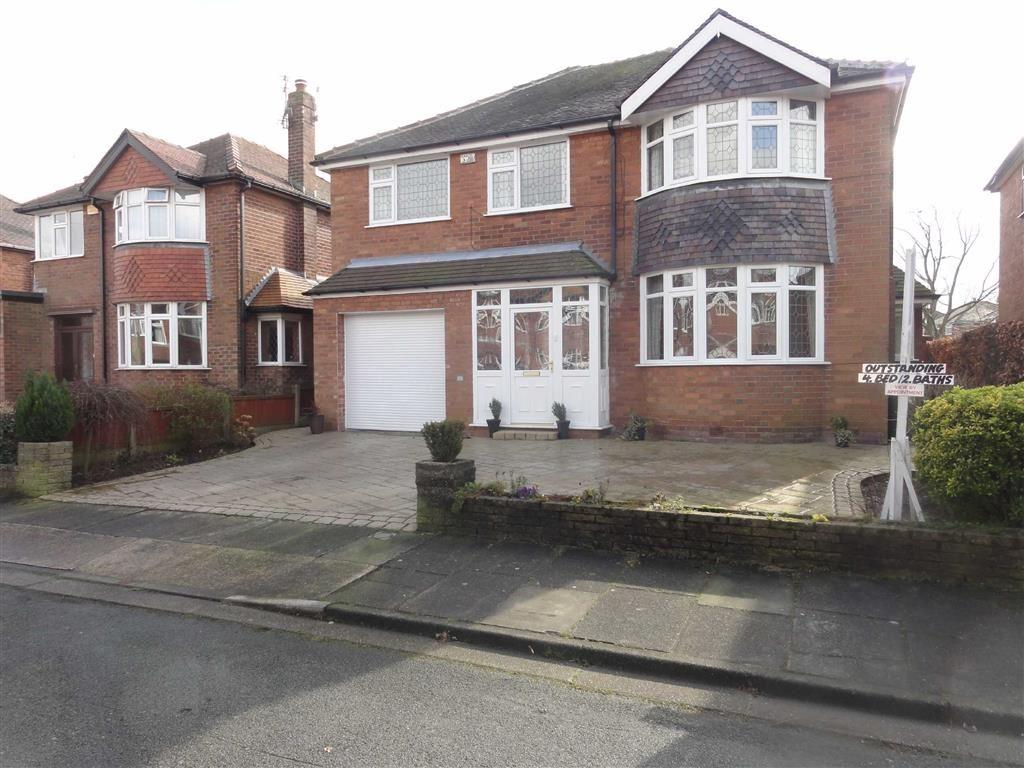4 Bedrooms Detached House for sale in Lincoln Avenue, Heald Green