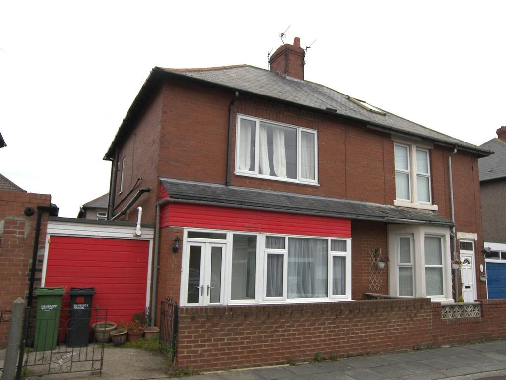 2 Bedrooms Semi Detached House for sale in Westfield Crescent, Newbiggin-By-The-Sea
