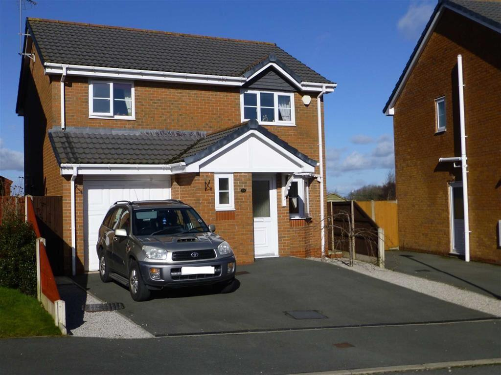 3 Bedrooms Detached House for sale in Broughton Heights, Pentre Broughton, Wrexham