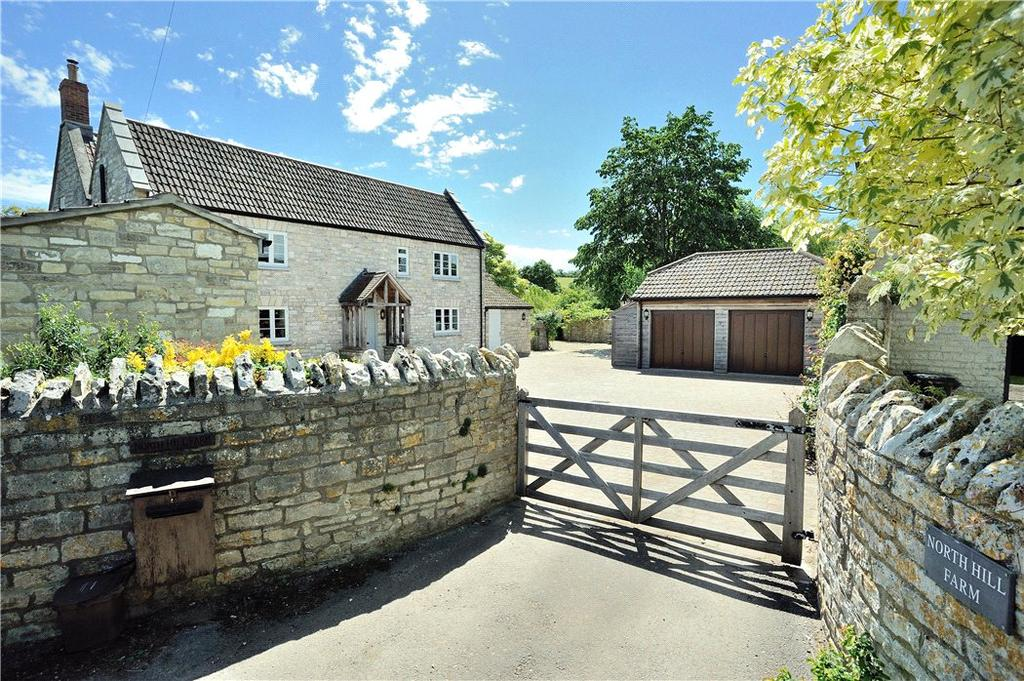 5 Bedrooms Detached House for sale in Steart Hill, West Camel, Yeovil, Somerset, BA22