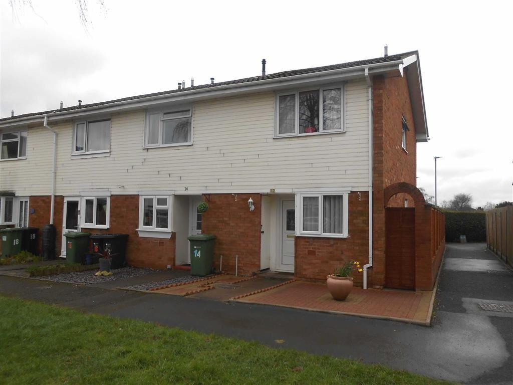 2 Bedrooms End Of Terrace House for sale in Ascot Close, Hereford