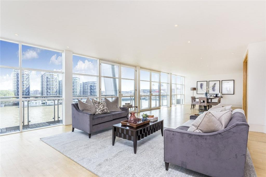 5 Bedrooms Penthouse Flat for sale in The Icon, 129 Grosvenor Road, Pimlico, London, SW1V