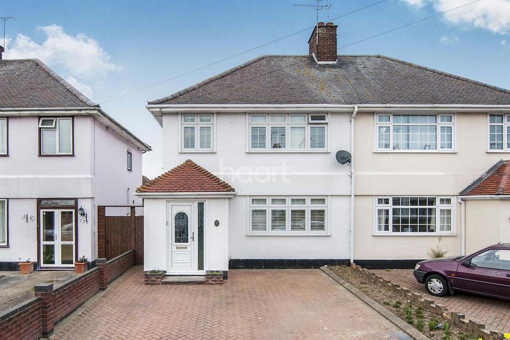 3 Bedrooms Semi Detached House for sale in Caulfield Road, Shoeburyness