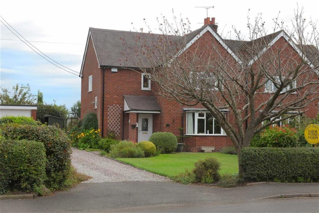 3 Bedrooms Semi Detached House for sale in Wrenbury Road, Nantwich, Cheshire
