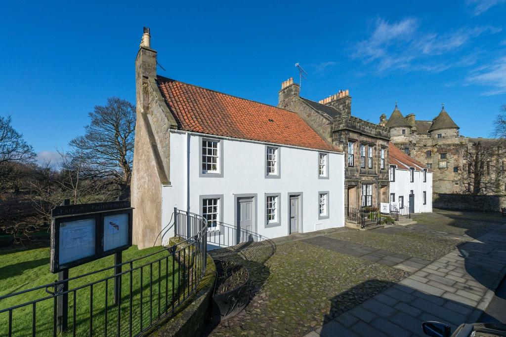 5 Bedrooms End Of Terrace House for sale in Saddlers House, High Street, Falkland, Cupar, Fife, KY15