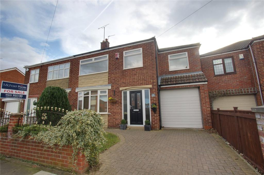 4 Bedrooms Semi Detached House for sale in Blantyre Road, Normanby