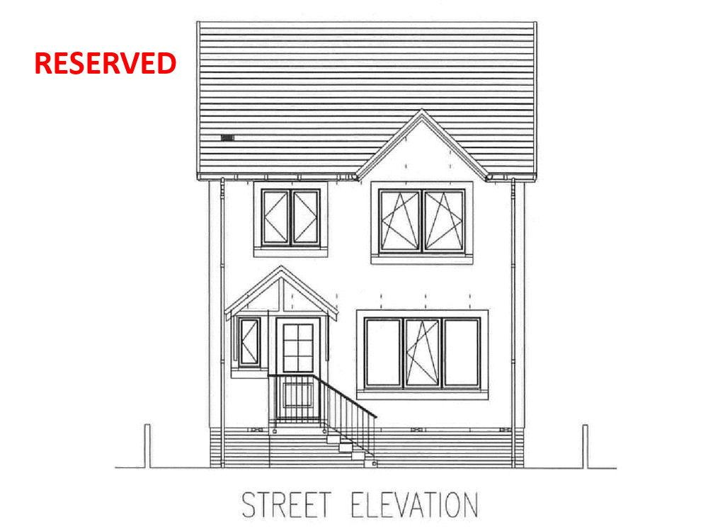 3 Bedrooms Detached Villa House for sale in Plot 5, New Houses, Knockscalbert Way, Campbeltown, PA28 6TA