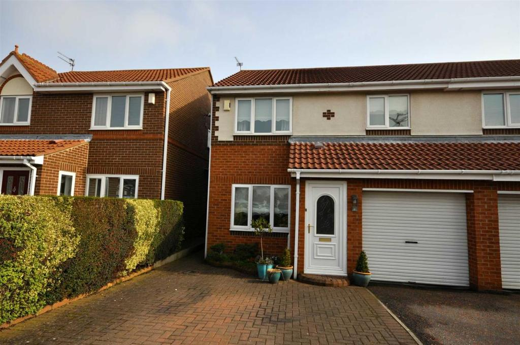 3 Bedrooms Semi Detached House for sale in Leyfield Close, The Downs, Sunderland