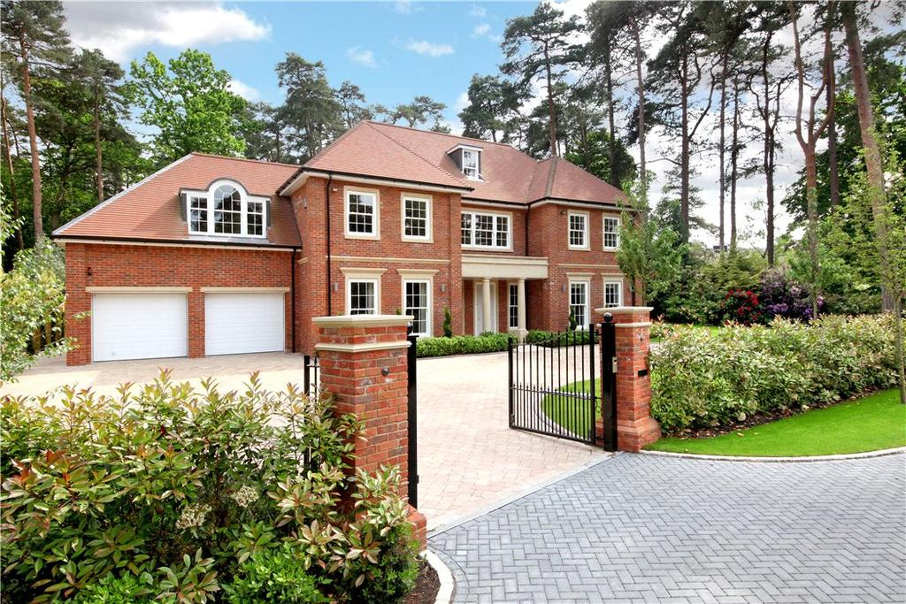 5 Bedrooms Detached House for sale in The Glade, South Ascot, Berkshire, SL5