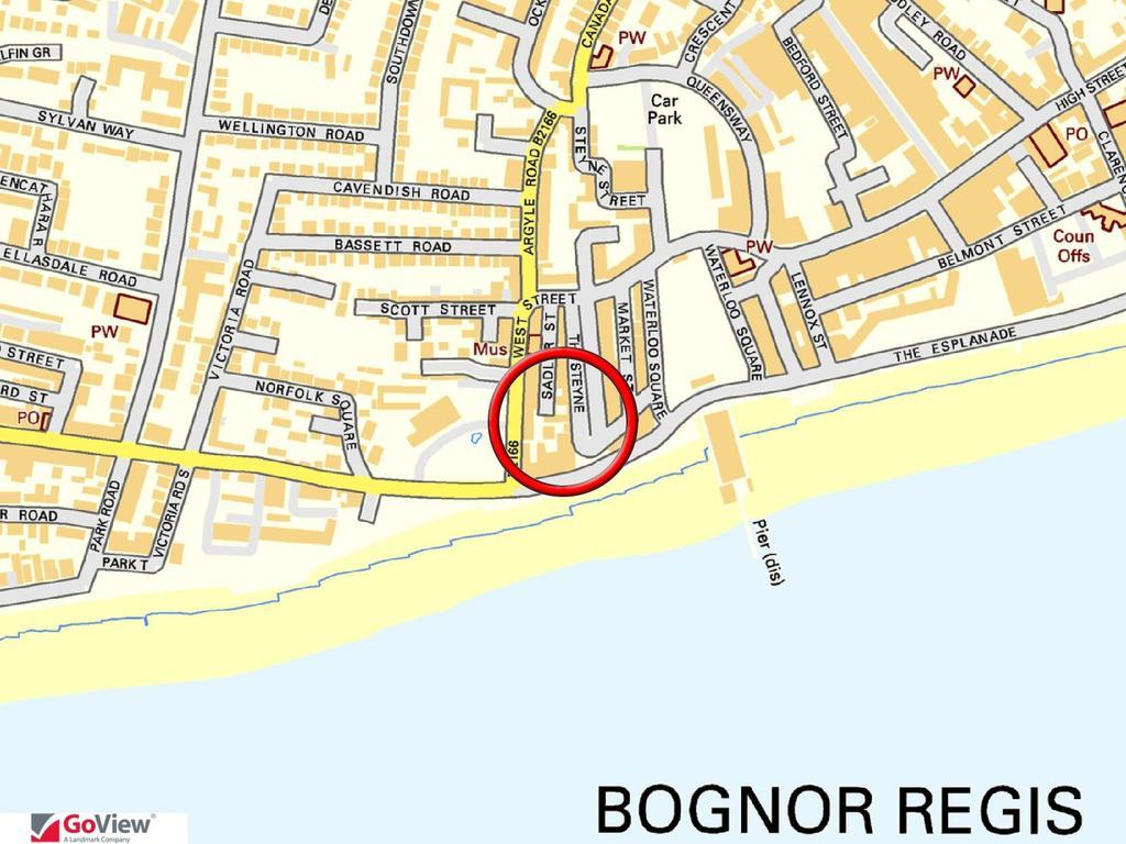 The Steyne Bognor Regis PO21 1 bed flat 795000