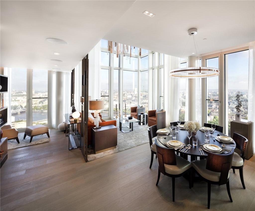 3 Bedrooms Flat for sale in 3204 South Bank Tower, 55 Upper Ground, South Bank, London, SE1