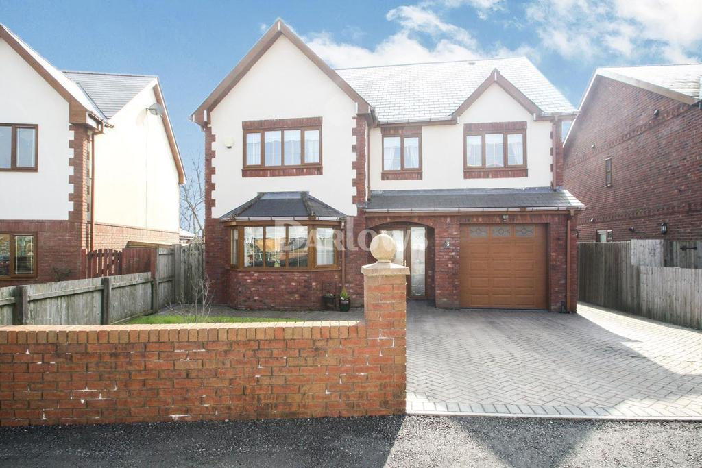 6 Bedrooms Detached House for sale in Maes Morgan, Nantybwch, Tredegar, Gwent