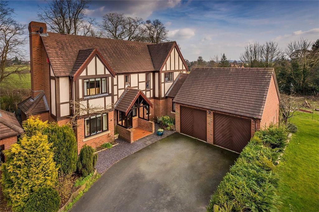 4 Bedrooms Detached House for sale in Bearcroft Grange, Hinstock, Market Drayton, Shropshire
