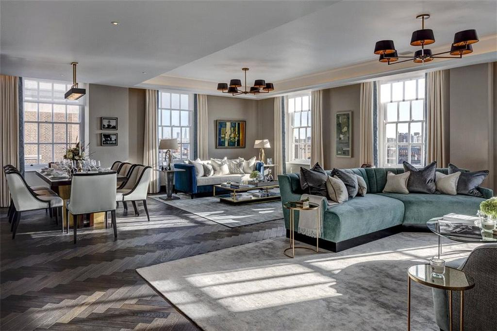 4 Bedrooms Flat for sale in North Row, Mayfair, London, W1K