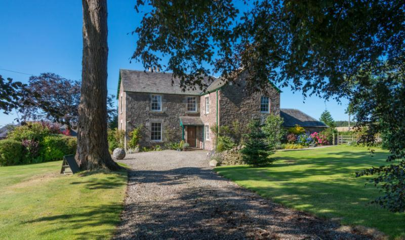 6 Bedrooms Equestrian Facility Character Property for sale in Denfield House, Trinity Gask, Auchterarder, Perthshire