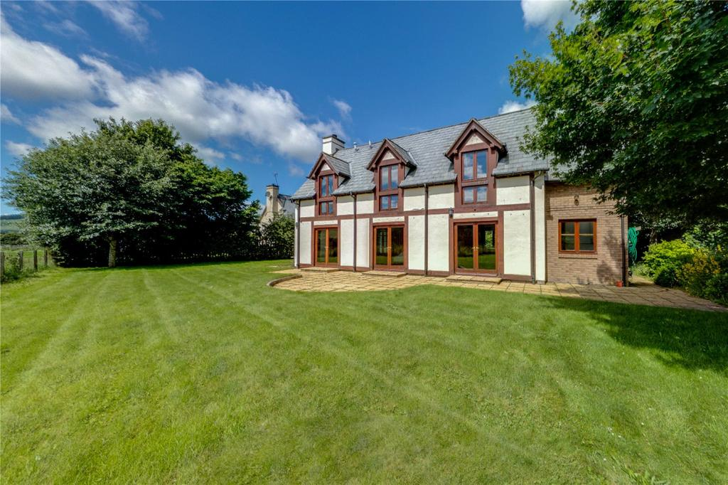 4 Bedrooms Detached House for sale in Meadow House, Lyne Station, Peebles, Scottish Borders