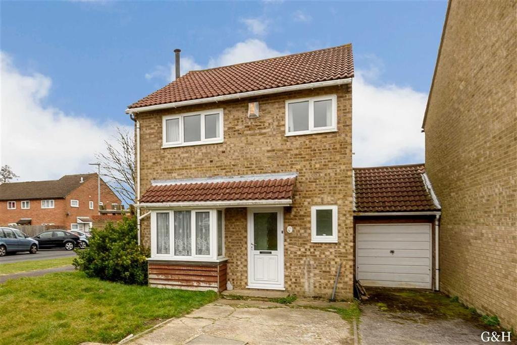4 Bedrooms Link Detached House for sale in Hawks Way, Ashford, Kent