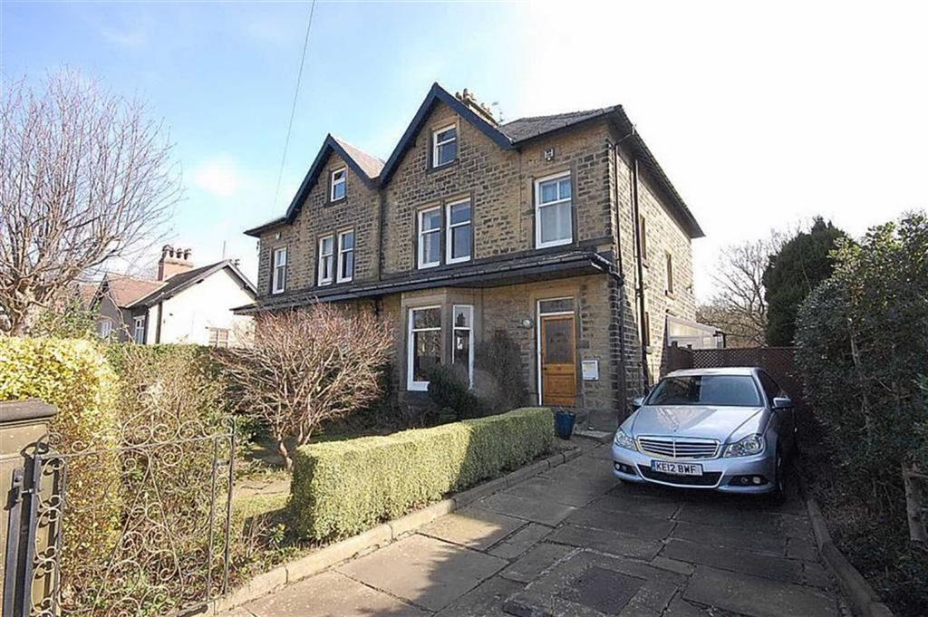 5 Bedrooms Semi Detached House for sale in Longley Road, Almondbury, Huddersfield, HD5