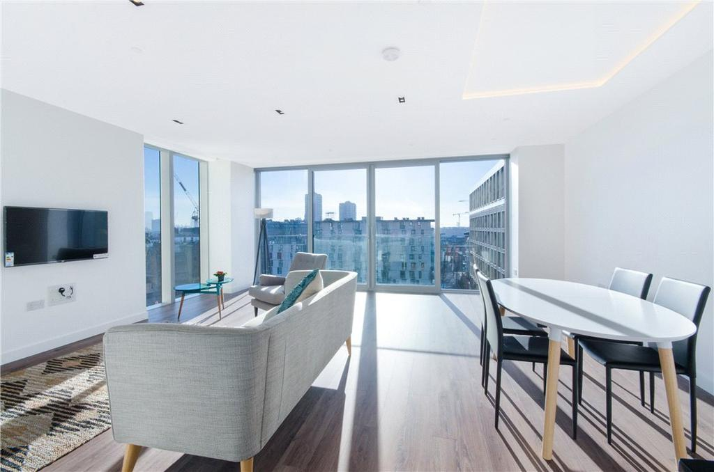 1 Bedroom Flat for sale in Satin House, 15 Piazza Walk, Aldgate, London, E1