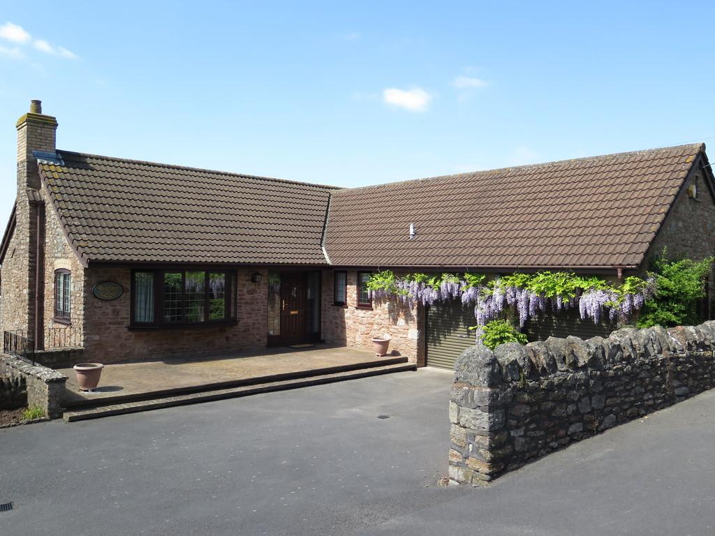 4 Bedrooms Detached House for sale in Draycott, Somerset