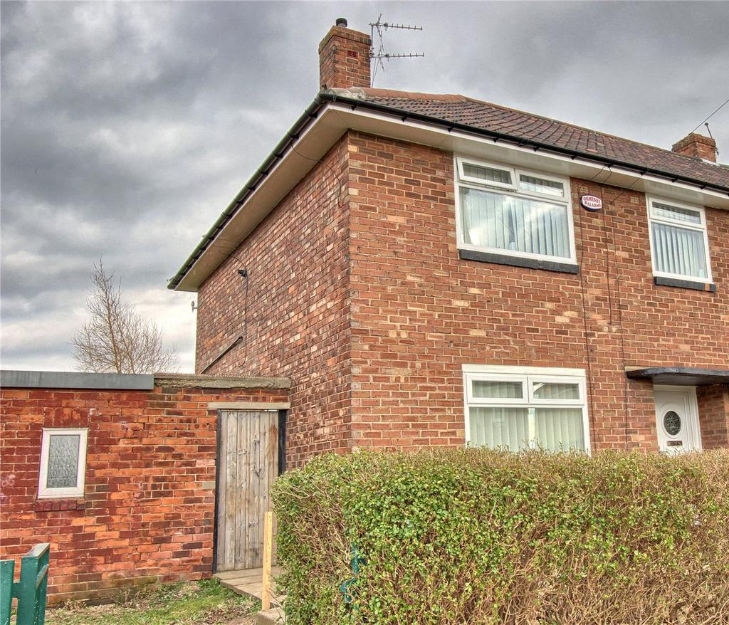 3 Bedrooms End Of Terrace House for sale in Carisbrooke Avenue, Thorntree