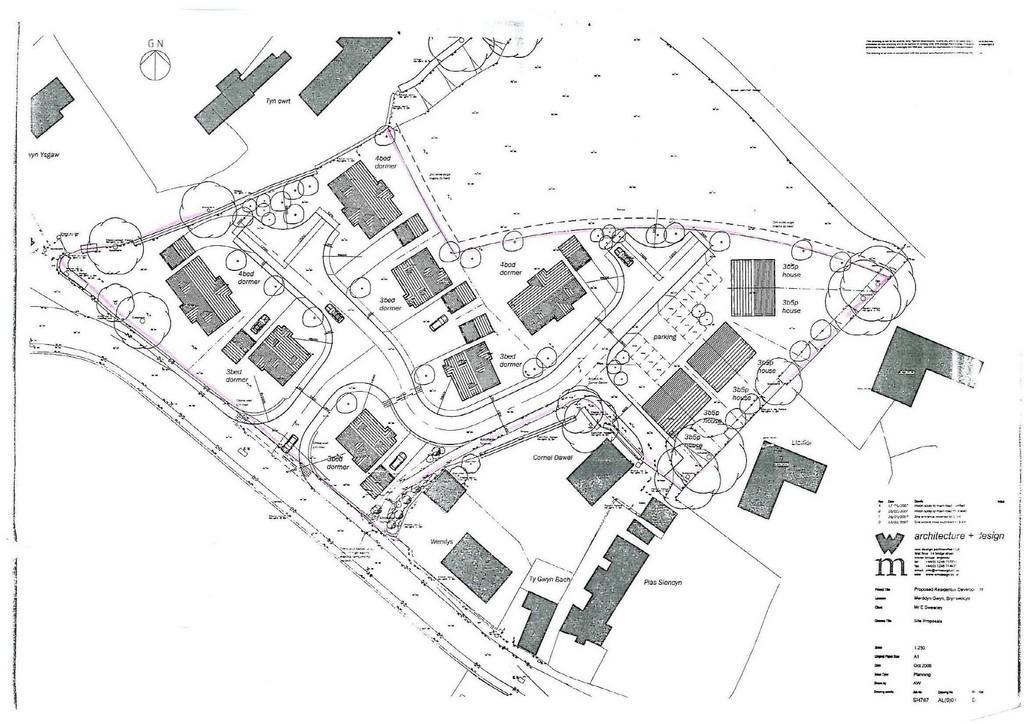 Land Commercial for sale in Brynsiencyn, Llanfairpwll, North Wales