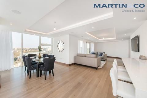 3 bedroom penthouse to rent - Trafalgar House, Battersea Reach
