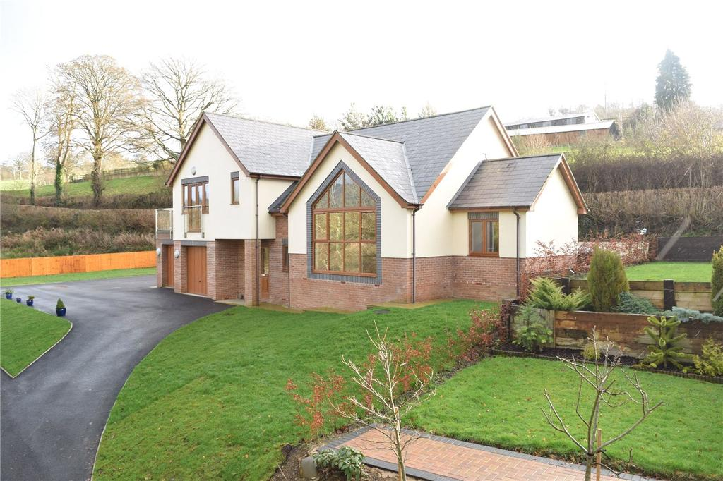4 Bedrooms Detached House for sale in Llanfair Caereinion, Welshpool, Powys