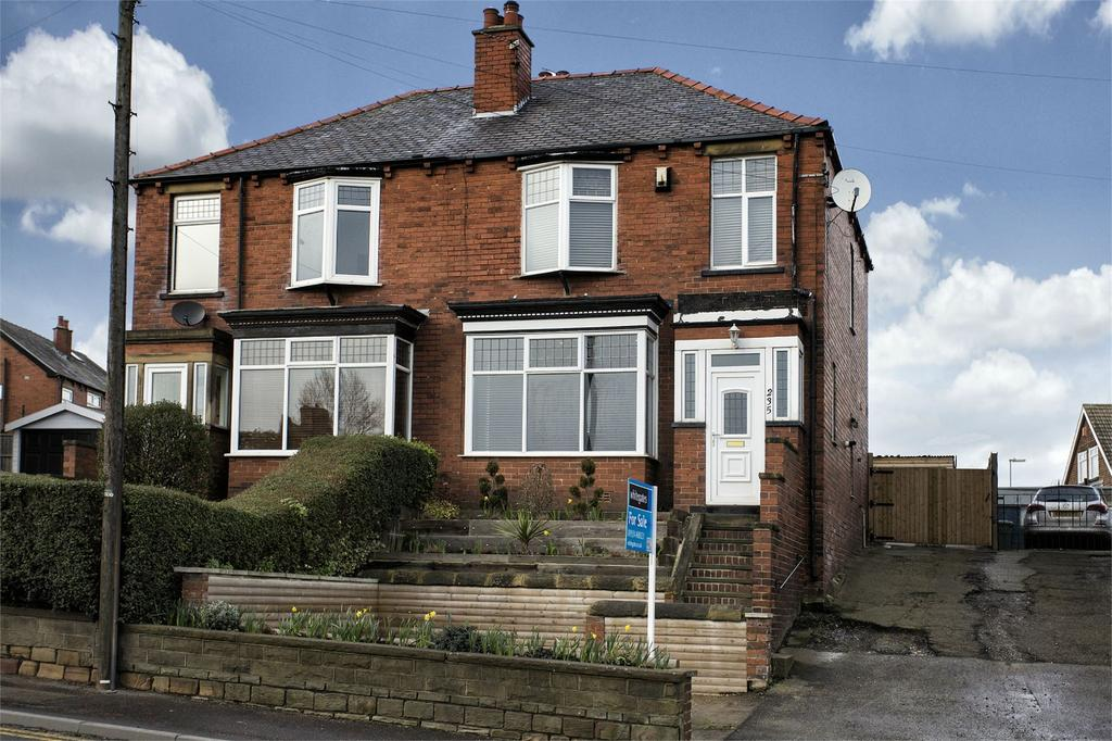 3 Bedrooms Semi Detached House for sale in Wakefield Road, Earlsheaton, Dewsbury, West Yorkshire, WF12